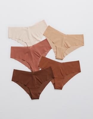 Aerie No Show Cheeky Underwear 5-Pack