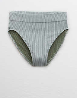 Aerie Seamless Ribbed High Waisted Bikini Undie by American Eagle Outfitters