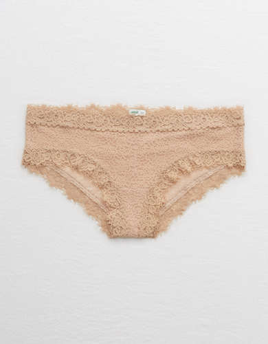 Aerie Eyelash Lace Cheeky Underwear