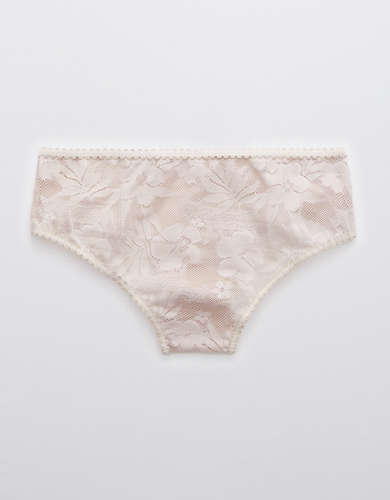 Aerie Cheetah Lace Cheeky Underwear