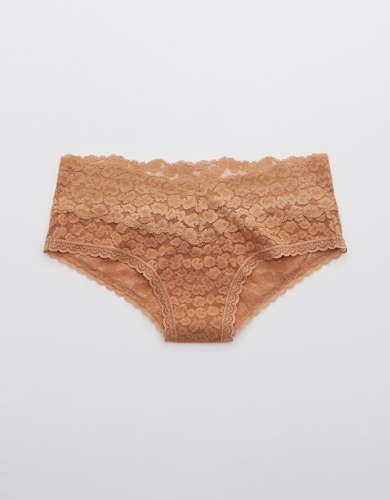 Aerie Animal Lace Cheeky Underwear