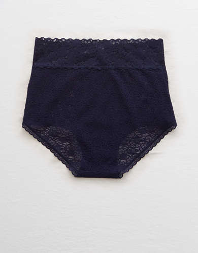 Aerie Lace High Waisted Boybrief Underwear