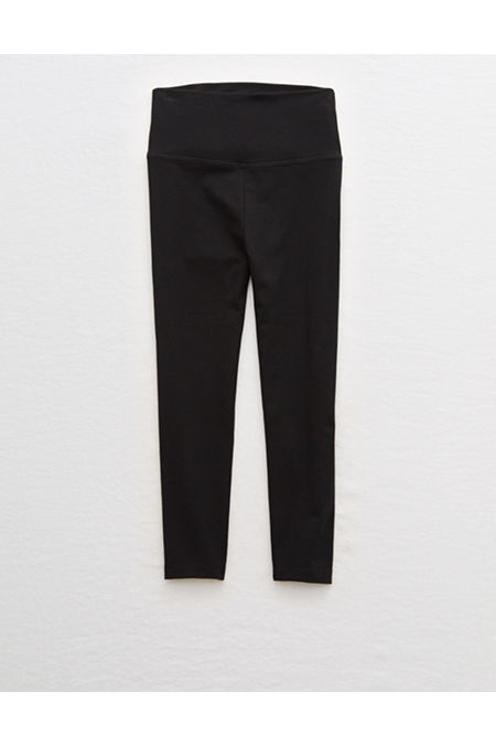 38bc311fc3a08 This review is fromAerie Chill High Waisted Crop Pant.
