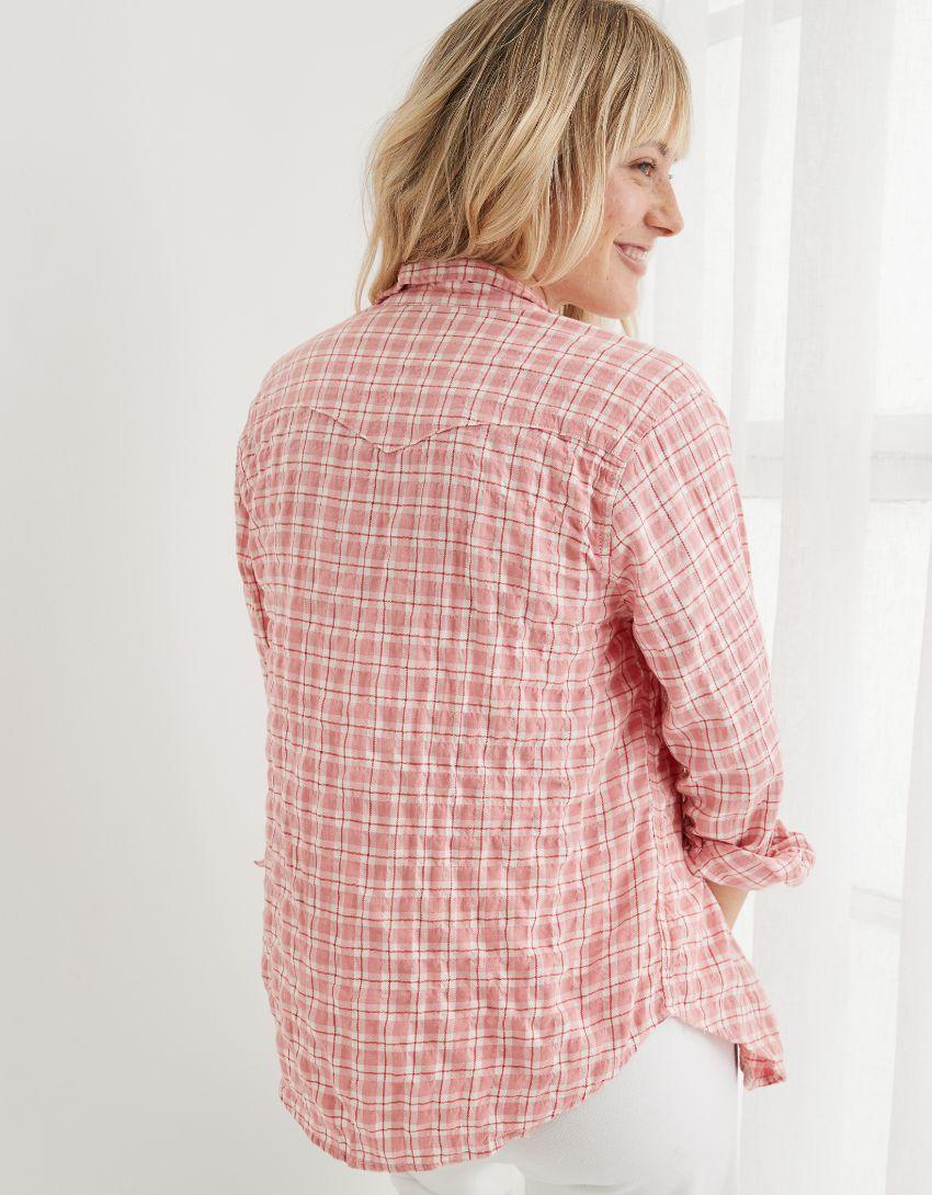 Aerie Long Sleeve Western Buttondown Shirt