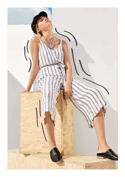 Womens Stripe Right Trend Image