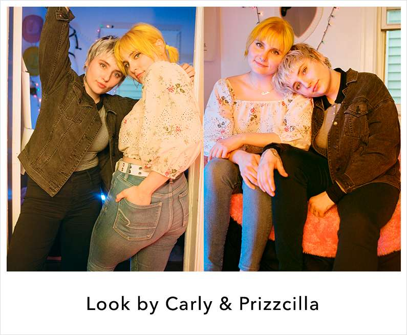 Look by carly and prizilla
