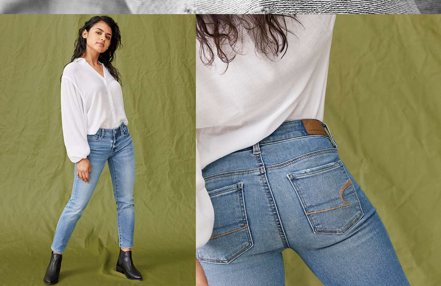 Skinny Jeans For Women American Eagle Outfitters Vintage Skin Rip Off Stretch Soft Sadia Is 51 And Wearing The Jean In Size 2 Extra Short