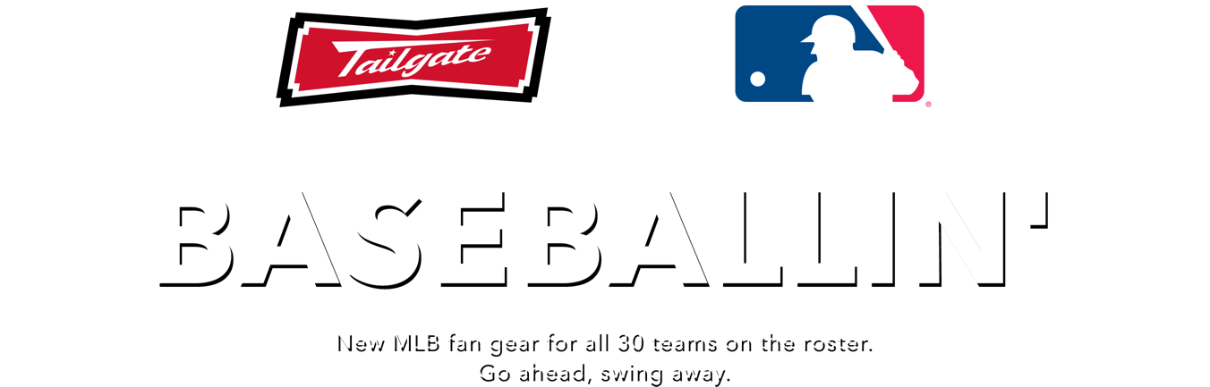 BASEBALLIN New MLB fan gear for every team on the roster. Go ahead, swing away
