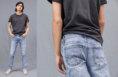 Vestido jeans no bras
