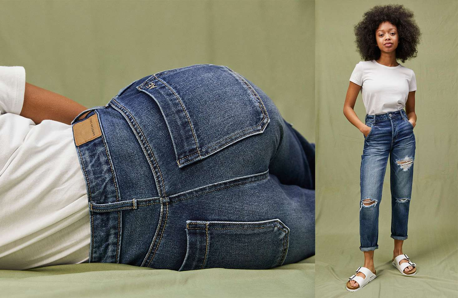 b9522074e21 Anajah is 5 1 and wearing the High-Waisted Tomgirl in size 00 Short.