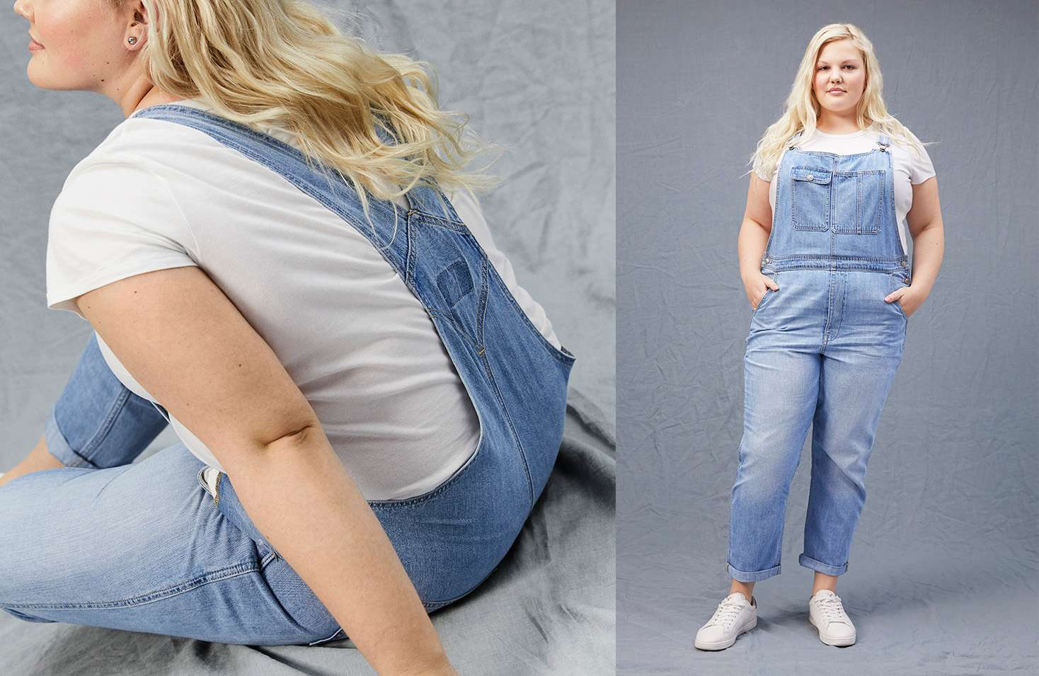 dd435f3d5ee8 High Waisted Tomgirl Overalls