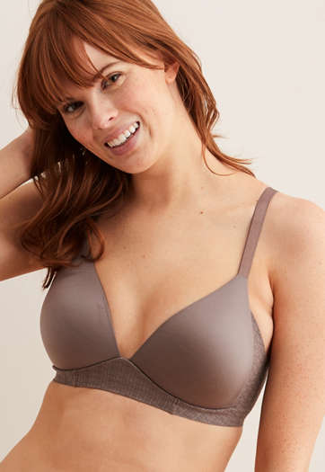 12427d7c2 Lightly Lined Bras. Strapless. Demi Coverage. Wireless