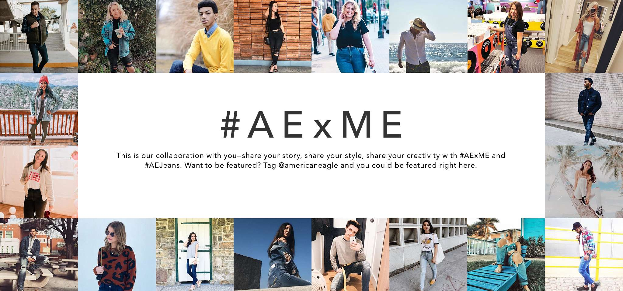 AE x me this is our collaboration with you