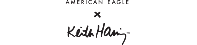 american eagle x keith haring
