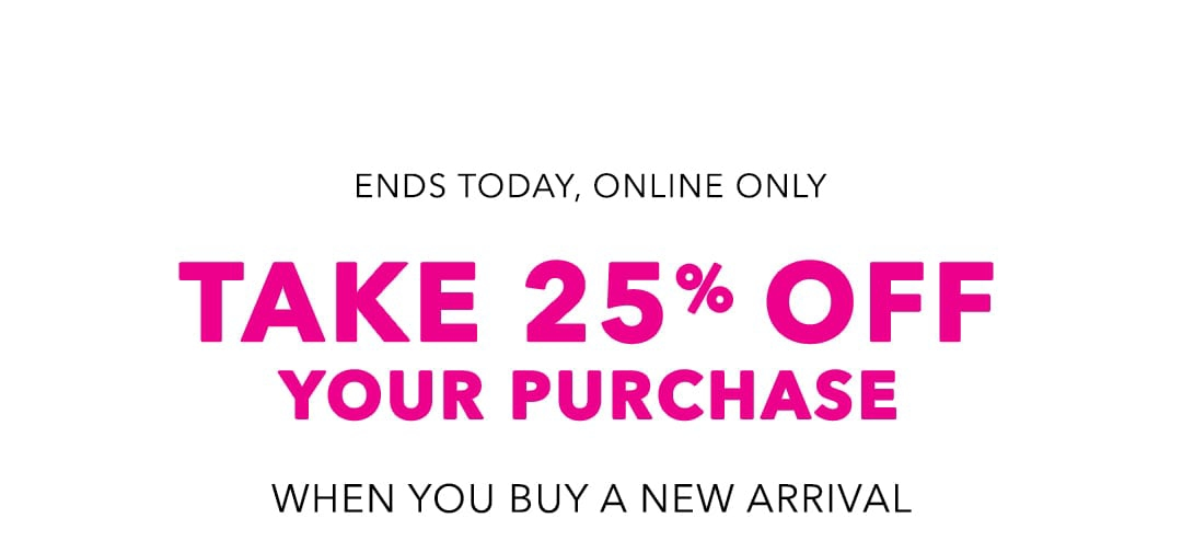 American Eagle - Redeem your 25% off code ASAP! ⏰