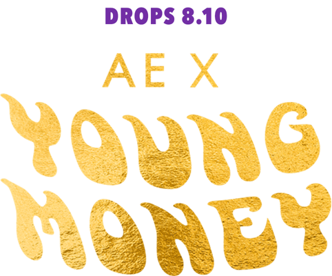 drops august 10 AE x Young Money
