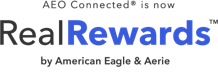 aeo connected is now real rewards by american eagle and aerie