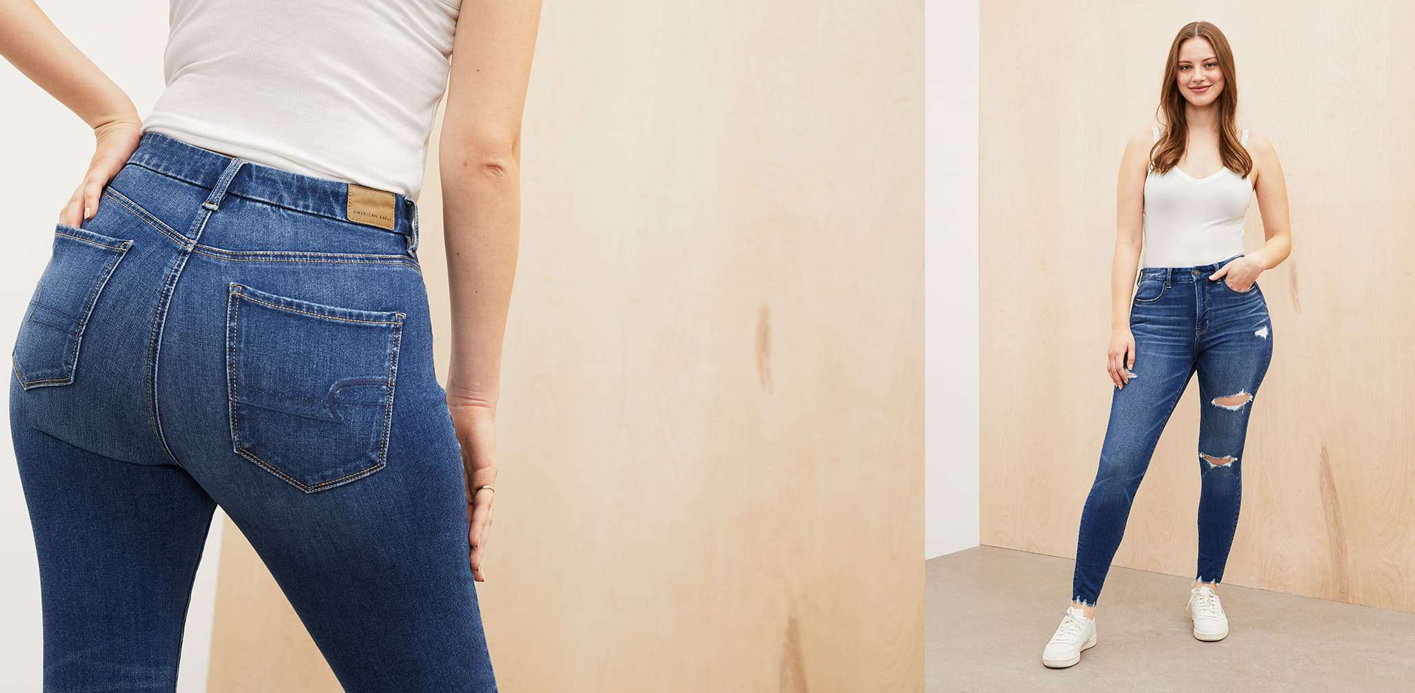 curvy jeans image