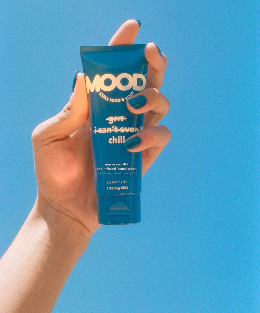mood image blue