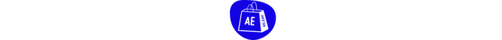 shopping bag with AE