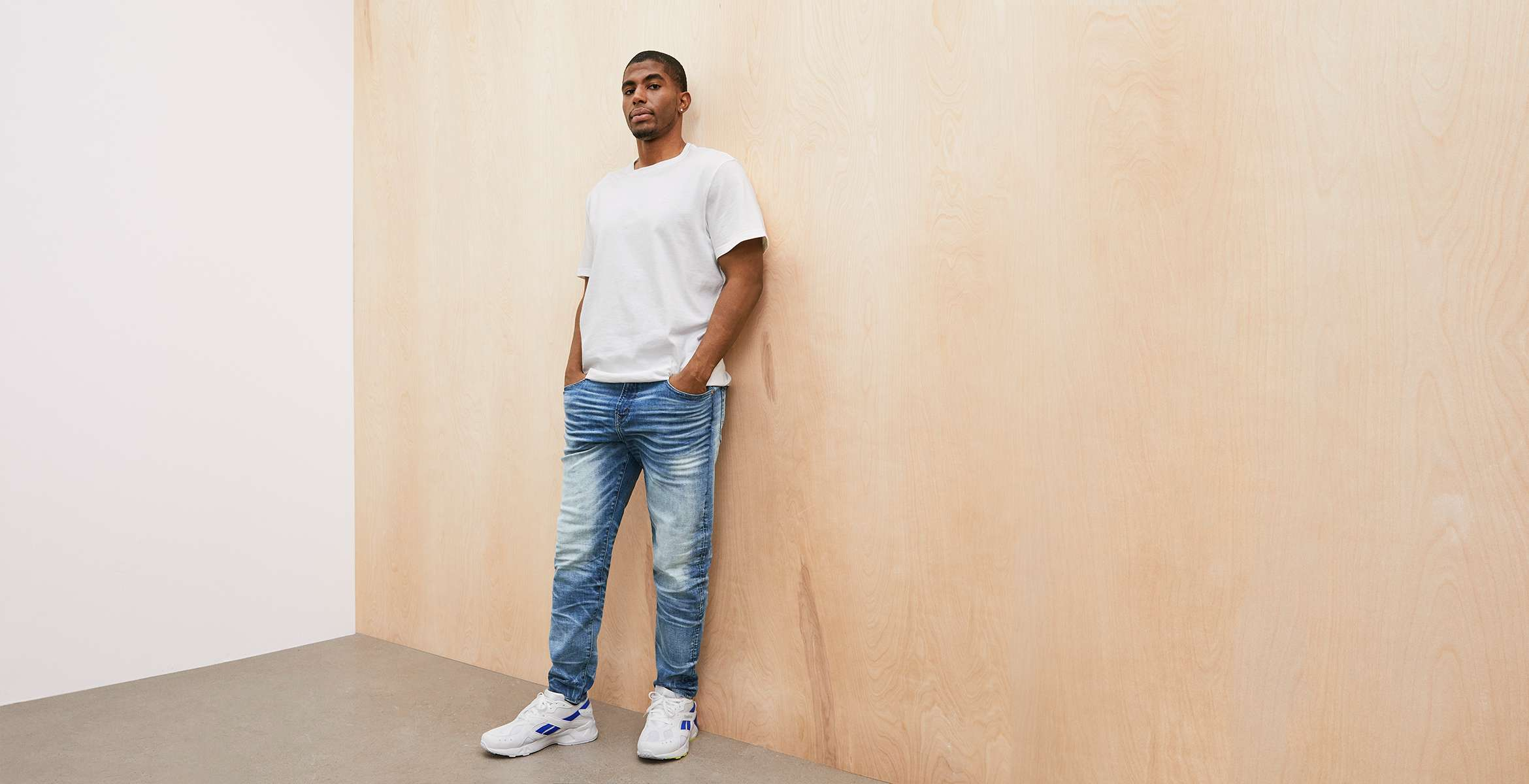 AE athletic jeans