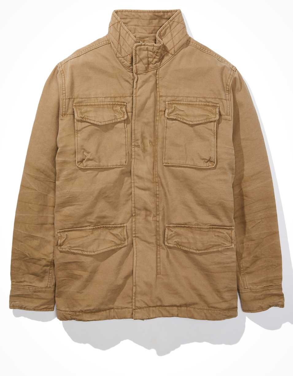 AE Sherpa Lined Military Jacket