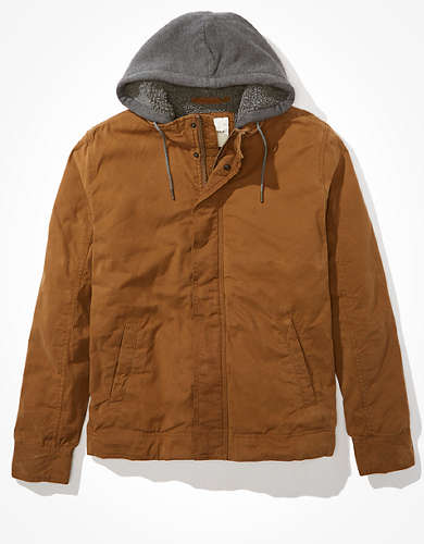 AE Sherpa Lined Hooded Jacket