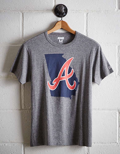 Tailgate Men's Atlanta Braves State T-Shirt - Free Returns