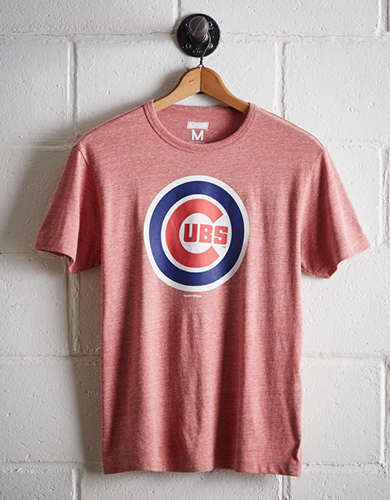 Tailgate Men's Chicago Cubs T-Shirt - Free Returns