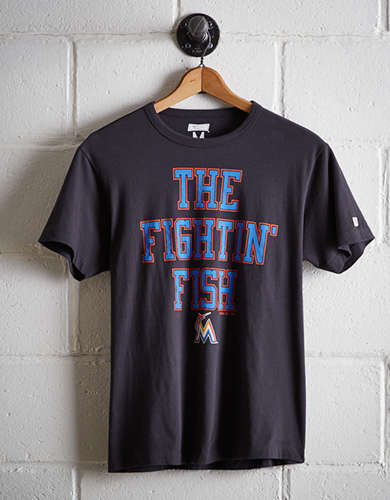 Tailgate Men's Miami Fightin' Fish T-Shirt - Free Returns
