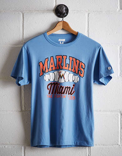 Tailgate Men's Miami Marlins T-Shirt - Free Returns