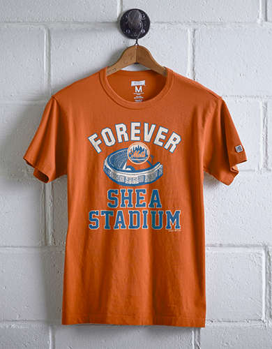 Tailgate Men's New York Mets Shea Stadium T-Shirt - Free Returns