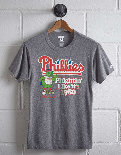 Tailgate Men's Philadelphia Phillies T-Shirt - Free Returns