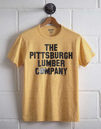 Tailgate Men's Pittsburgh Lumber Company T-Shirt - Free Returns