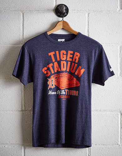 Tailgate Men's Detroit Tiger Stadium T-Shirt - Free Returns