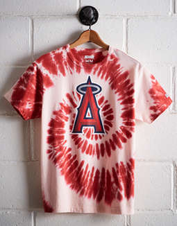 Tailgate Men's Los Angeles Angels Tie-Dye T-Shirt