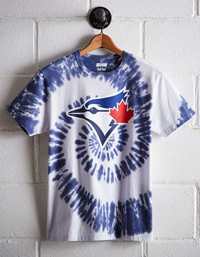 Tailgate Men's Toronto Blue Jays Tie-Dye T-Shirt - Buy One Get One 50% Off