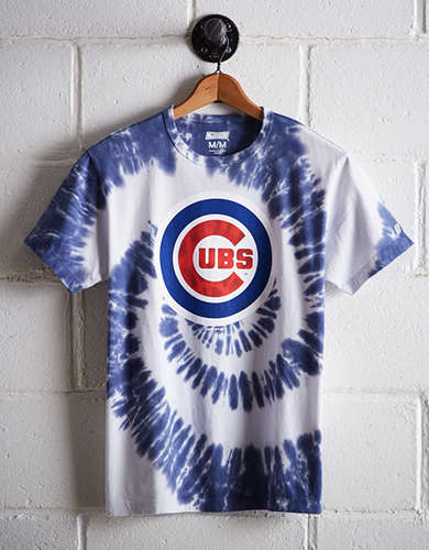 Tailgate Men's Chicago Cubs Tie-Dye T-Shirt