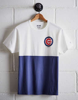 Tailgate Men's Chicago Cubs Color Block T-Shirt