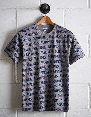 Tailgate Men's Seattle Mariners All-Over Graphic Tee - Free Returns