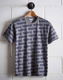 Tailgate Men's Seattle Mariners All-Over Graphic Tee