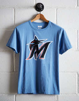 Tailgate Men's Miami Marlins T-Shirt