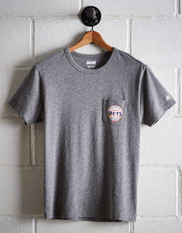 Tailgate Men's New York Mets Pocket Tee