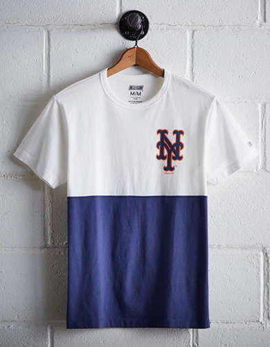 Tailgate Men's NY Mets Color Block T-Shirt - Free Returns