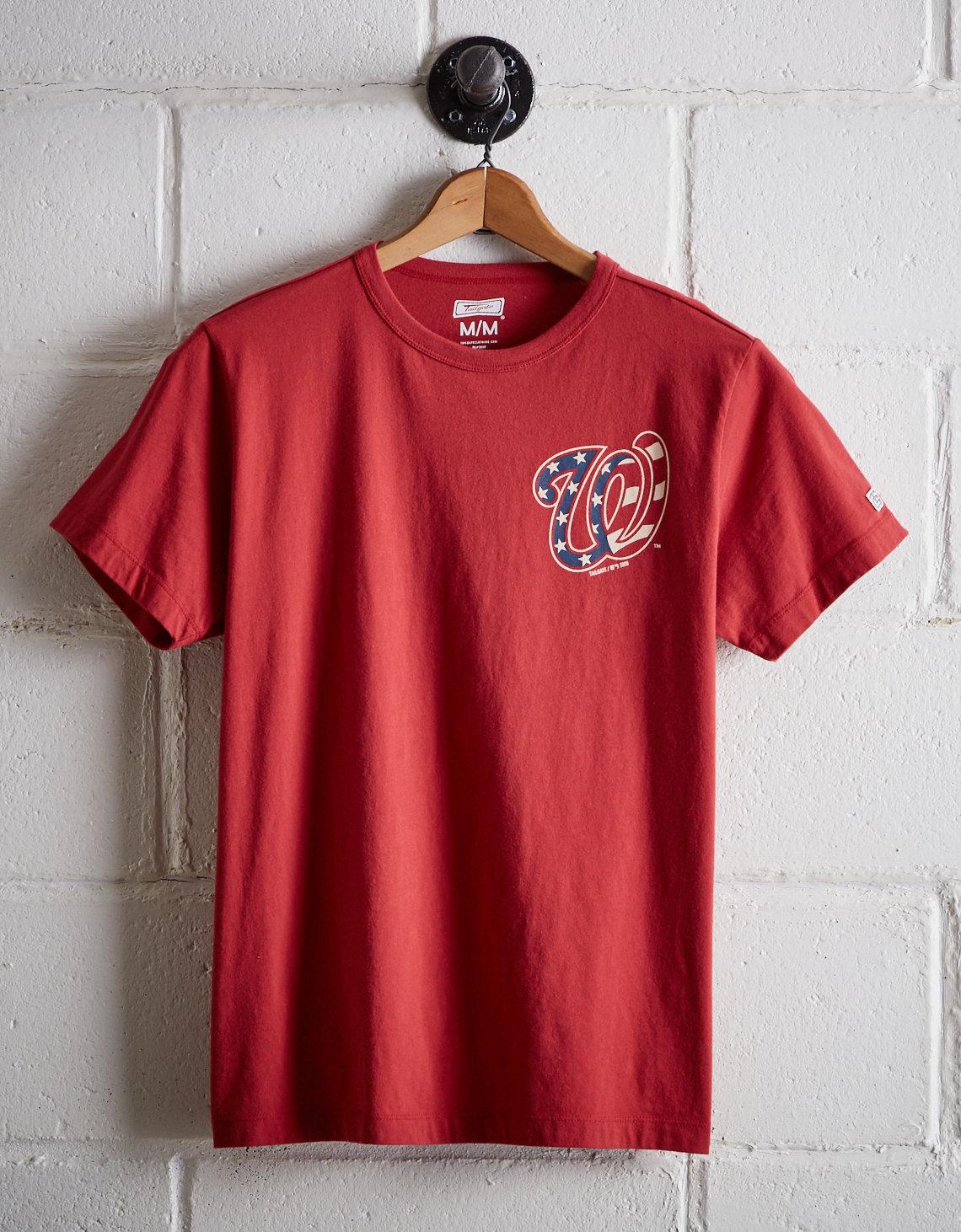 9d170e79 Tailgate Men's Washington Nationals Graphic T-Shirt