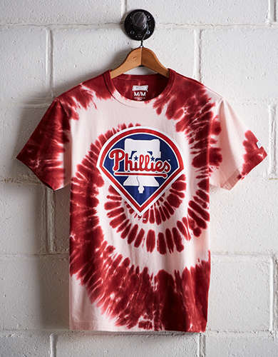 Tailgate Men's Philadelphia Phillies Tie-Dye T-Shirt - Free Returns