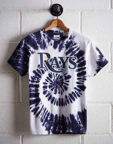 Tailgate Men's Tampa Bay Rays Tie-Dye T-Shirt - Free Returns