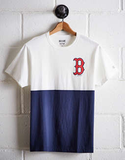 Tailgate Men's Boston Red Sox Color Block Tee