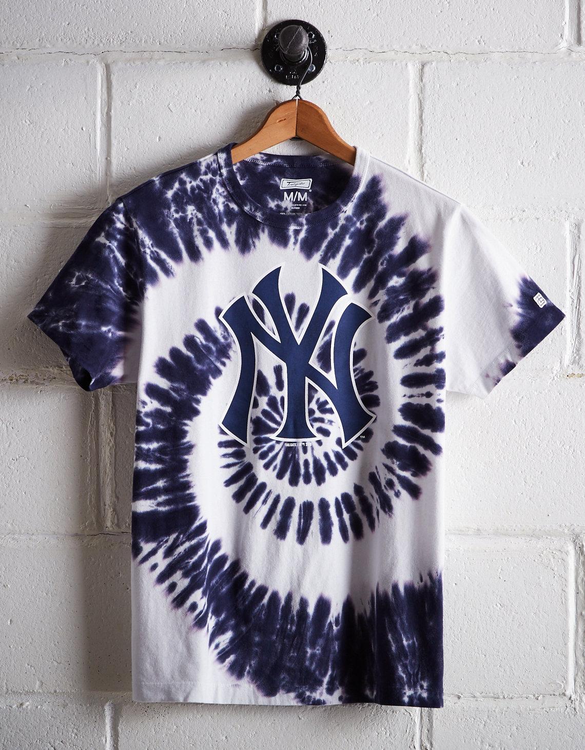 Tailgate Men s New York Yankees Tie-Dye T-Shirt 191a8b1fa56