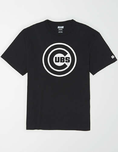 Tailgate Men's Chicago Cubs Reflective Graphic T-Shirt